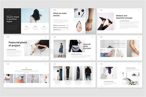 Minimal Fashion Presentation Weidea Fashion Slides Template