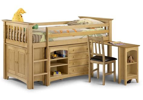 Solid Pine Cabin Bed trent solid pine cabin bed with storage oak furniture uk