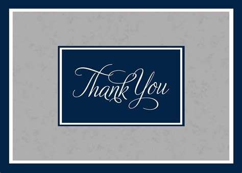 Professional Thank You Card For Template by Professional Standard Thanks Thank You Cards From