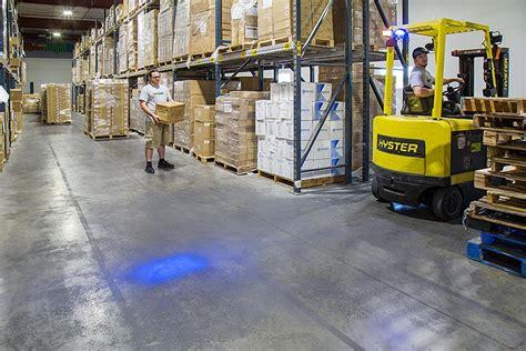 blue warning lights on forklifts forklift blue light led safety light w 4 176 square beam