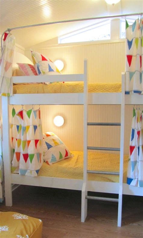 bunk bed lights 25 functional and stylish kids bunk beds with lights digsdigs