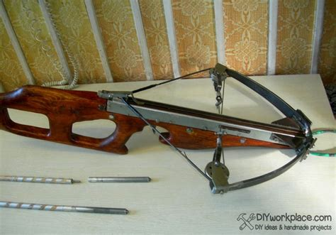 Handmade Crossbows - diy foldable crossbow