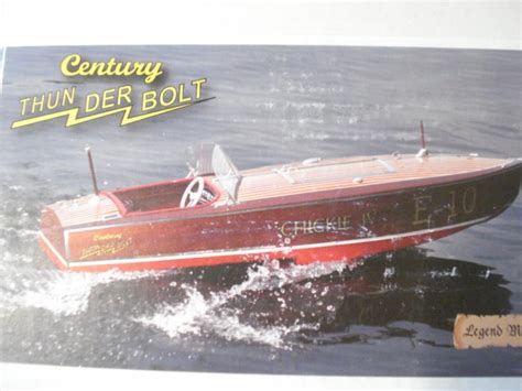 legend boats models legend model boats 1939 century thunderbolt r c model