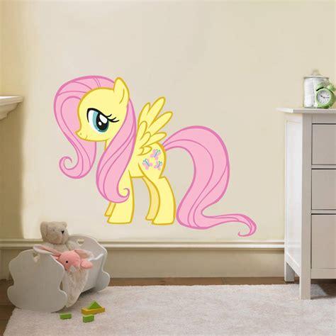 my pony wall stickers fluttershy my pony decal removable wall sticker