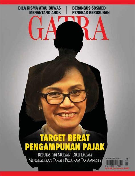 Majalah Gatra 2016 jual majalah gatra 04 10 agustus 2016 scoop indonesia