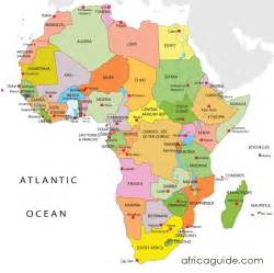 The Map Of Africa by Map Of Africa Africa Map Clickable