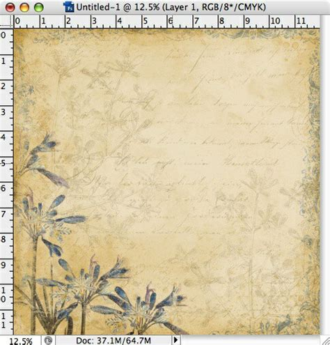 tutorial creating digital scrapbook paper digital scrapbooking at designerdigitals your first layout