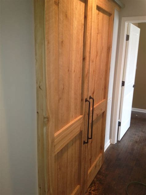 Sliding Interior Cedar Barn Doors Future Home Pinterest Cedar Interior Doors