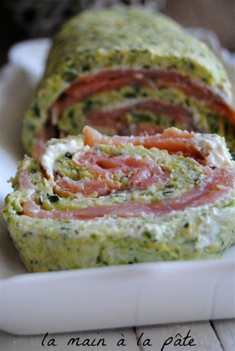 recette de cuisine marmiton entr馥 froide roul 233 224 la courgette et au saumon