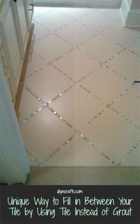 Different Ways To Lay Floor Tile by Unique Way To Fill In Between Your Tile By Using Tile