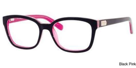 Pink And Black Glasses buy kate spade janetta frame prescription eyeglasses