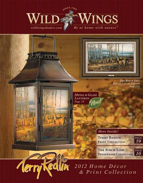 catalog with cheap home decor terry redlin wholesale 2012 home d 233 cor and print catalog