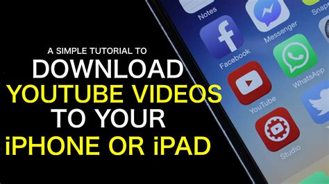 download youtube to iphone how to download youtube videos to your iphone or ipad with