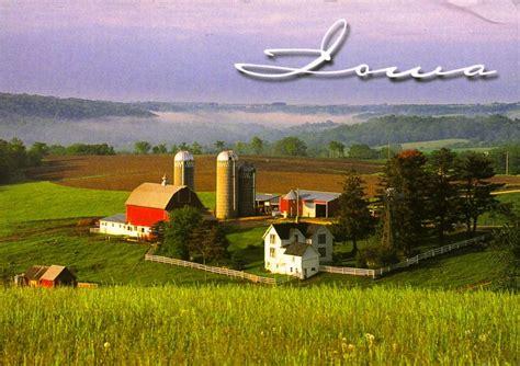iowa city landscaping usa iowa world on postcards