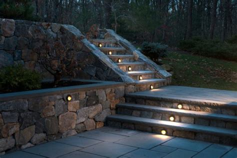 Patio Step Lights 10 Diy Backyard And Patio Lighting Ideas