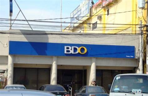 banco de oro bdo banco de oro quezon city