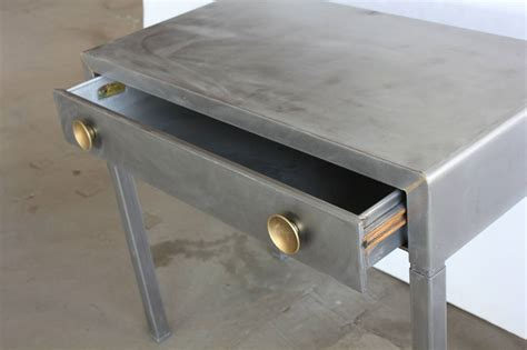 stylish antique industrial metal desk at 1stdibs stylish 1920s industrial metal desk by simmons at 1stdibs