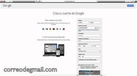 imagenes google cuenta crear cuenta gmail crear cuenta correo electr 243 nico