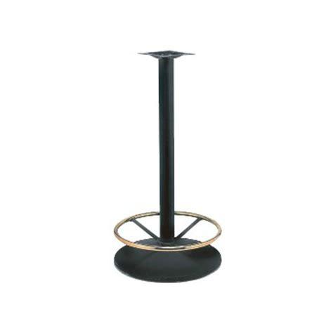 black bar height table black bar height table base brass ring tablebasedepot