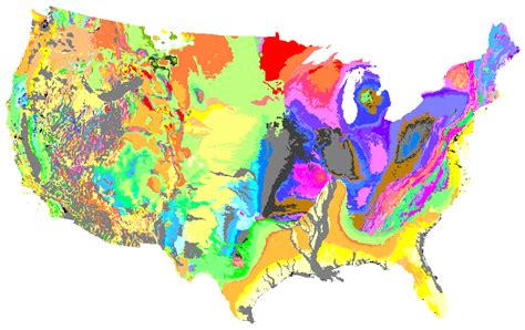 geologic map of america map satellite images of the san joaquin valley