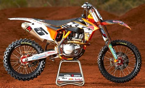 works motocross bikes exclusive look inside dungey s 2013 ktm 450sxf works