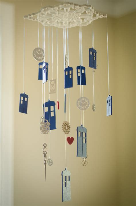 Doctor Who Crib Mobile by Mobiles B 233 B 233 Doctor Who Et Harry Potter Brain Damaged