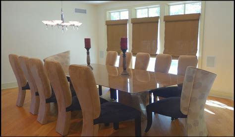 9 foot dining table custom contemporary and modern dining rooms including