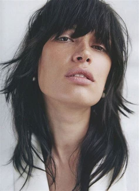 shaggy rough long bob types of bangs hairstyles and which ones are best for you