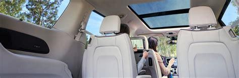 chrysler pacifica interior features   passengers