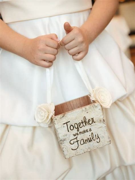 Picture Of Lovely Flower Girl Basket Ideas