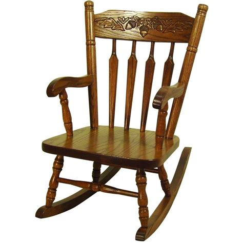Acorn Child's Rocker   Amish Crafted Furniture