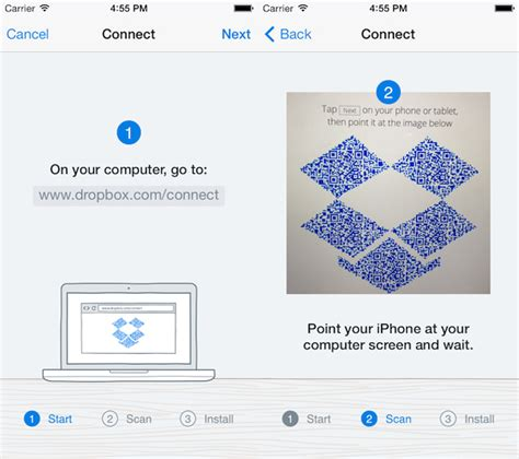 Dropbox Not Connecting | dropbox for ios update adds new setup and file management