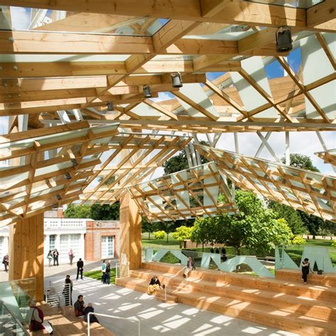 frank gehry s 2008 serpentine gallery pavilion consisted