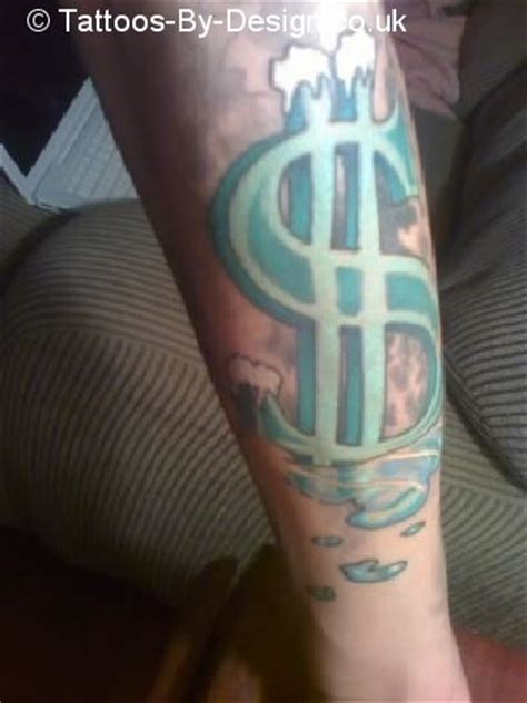 cash money tattoo designs tattoos of money
