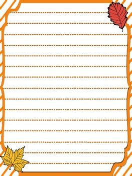 free fall writing template by the busy teachers guide tpt