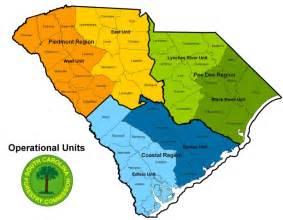south carolina map regions map