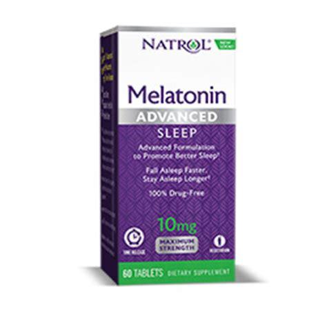 how long to take melatonin before bed melatonin sleep n restore natrol