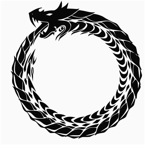 image result for norse sea serpent norse symbols the scribbling sea serpent why an ouroboros