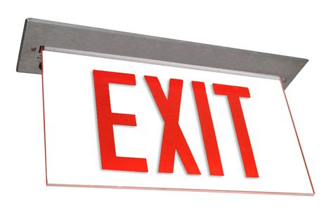 Exit A ledalux 174 lighting exit signs led exit signs