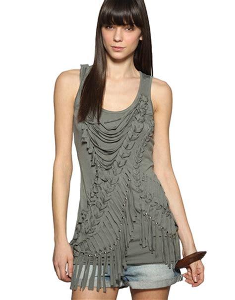 10 Ways To Poshs Utility Glam Look by Warehouse Macrame Studded Vest Ways Poshs Utility
