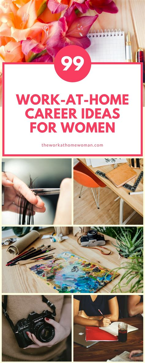 work  home career ideas  women