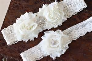 garters for wedding sale wedding garter set ivory garter set by annabellecollection