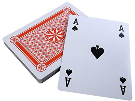 printable giant deck of cards jumbo sized deck of cards mugwomp