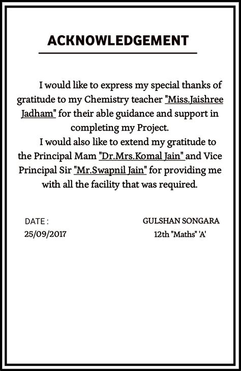 Acknowledgement Letter Graduation sle of acknowledgement letter for school project image collections cv letter and