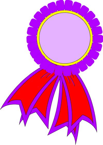 1st prize ribbon template purple ribbon clipart cliparts co