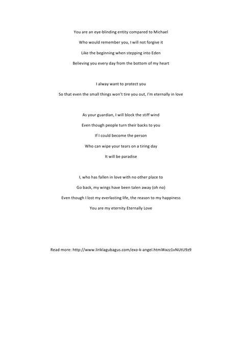 Lirik lagu exo