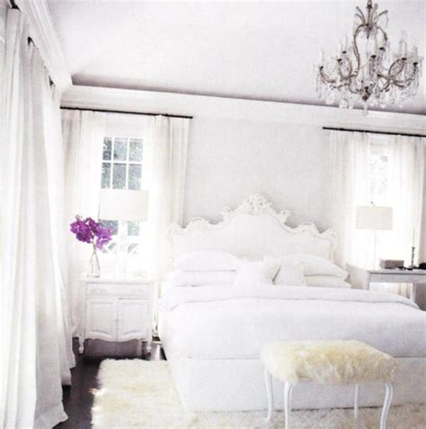 white and cream bedroom rococo headboard french bedroom