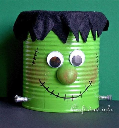 ideas frankenstein and fall tin can upcycles for and adults