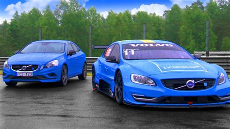 volvo race car volvo s60 polestar race car vs road car fifth gear