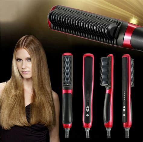 magic hair comb straightener 10pcs ionic hair straightener magic comb comb display